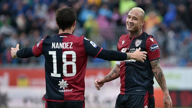 Le pagelle di Cagliari-Fiorentina 5-2: Nainggolan devastante, Chiesa sottotono