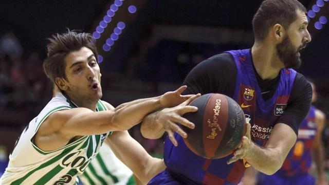 95-100. El Barcelona vence un colosal duelo de triples con el Coosur Betis
