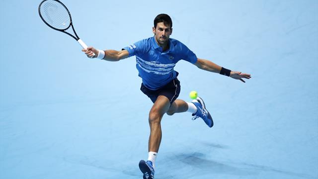 Bienvenue au Masters : Djokovic a bizuté Berrettini