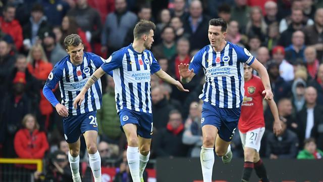 Brighton întoarce scorul în două minute cu Wolves!