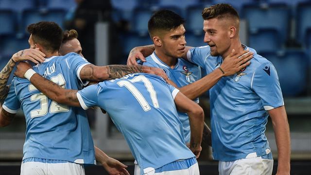 La Lazio vince 4-2 ed è 3a in classifica: Atalanta bloccata dalla Samp, 0-0 Udinese-SPAL