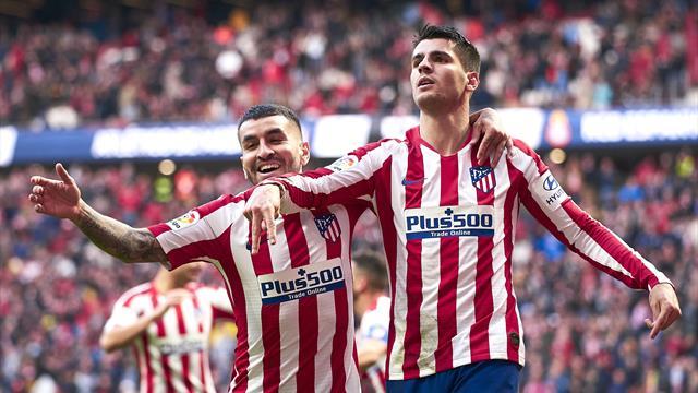 Un grand Morata et l'Atletico monte sur le podium