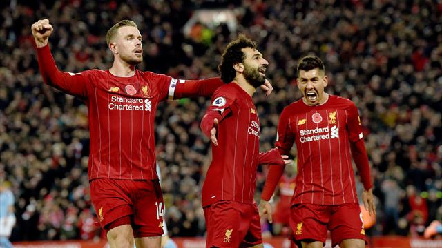 Liverpool go eight points clear after pulsating win over Man City