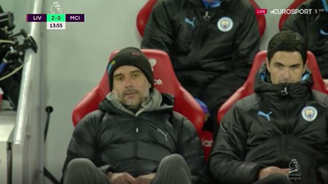 Liverpool - City | Reacția lui Pep Guardiola