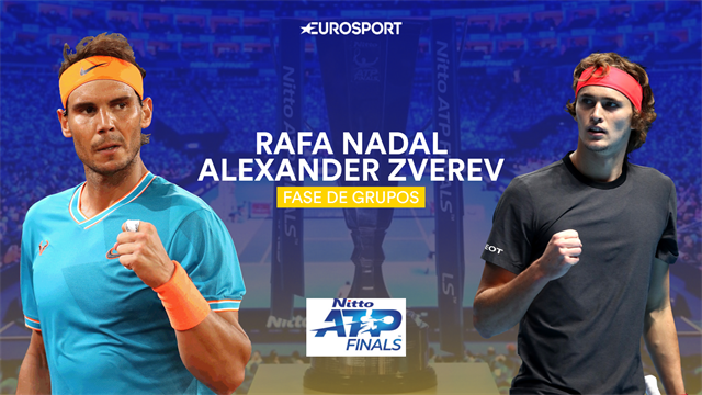 ATP Finals, Rafa Nadal-Zverev: A espantar los fantasmas de la lesión (21:00)