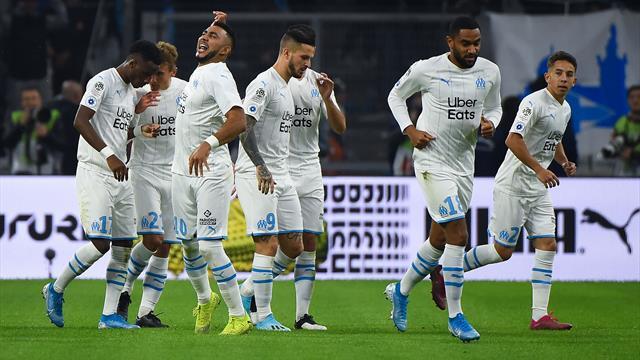 EN DIRECT : L'OM mène 2-0 à la pause face à Lyon, doublé de Payet