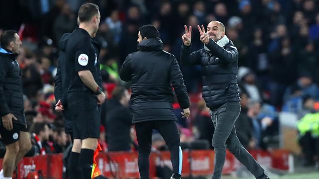 """Guardiola: """"Rigore col Liverpool? Non mi lamento, ma chiedete a chi sta al VAR..."""""""