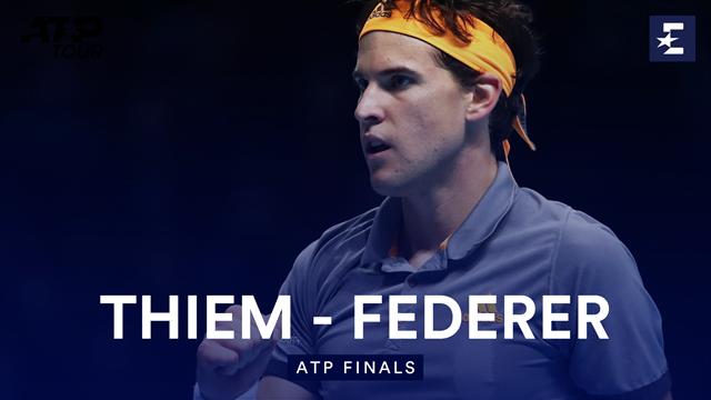 Федерер выдал несколько шикарных розыгрышей, но Тим все равно был сильнее