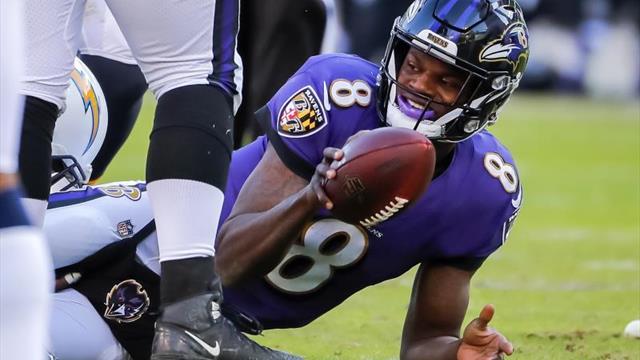 13-49. Jackson lanza para tres anotaciones y los Ravens siguen ganando