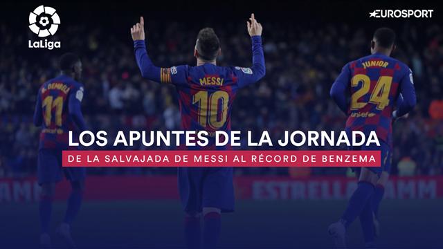 Los apuntes de la jornada 13: De la salvajada de Messi al récord de Benzema