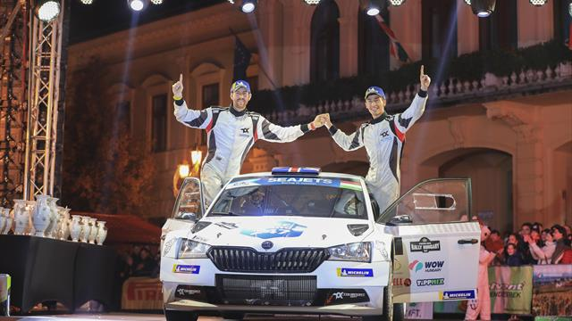 Turan wins Rally Hungary, Ingram clinches ERC title in final-stage decider