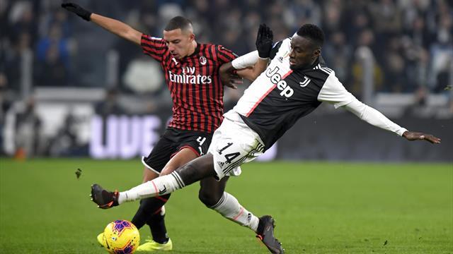 Juventus, brutta tegola per Sarri: Matuidi, frattura della cartilagine della decima costa