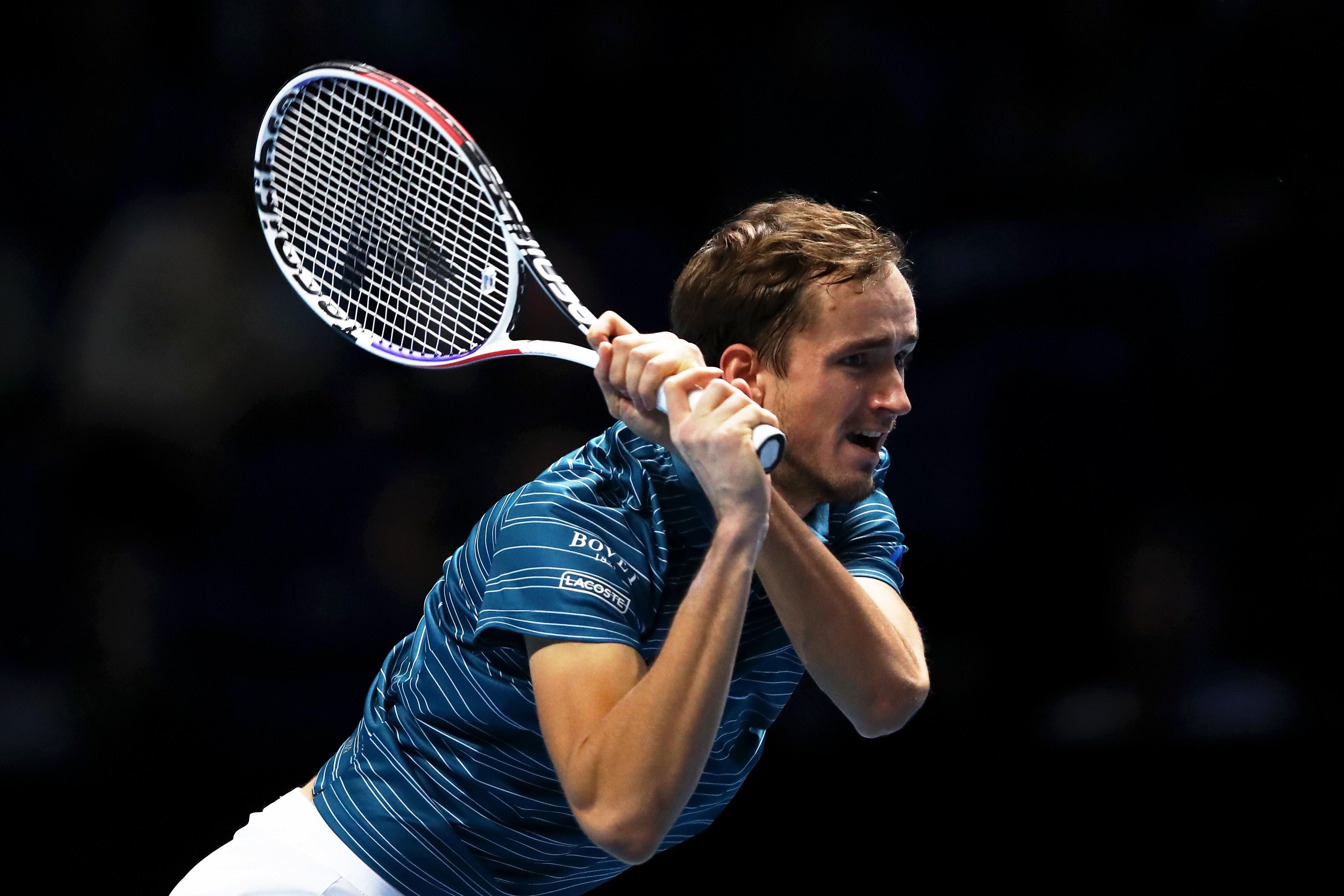 Daniil Medvedev au Masters 2019 à Londres