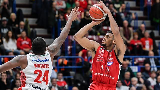 Basket, Serie A 2019-2020: Milano travolge Pistoia nel posticipo dell'ottava giornata