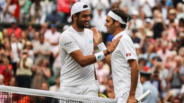 Federer et Berrettini : Même combat, trajectoires opposées