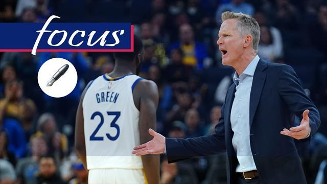 L'infortunio di Curry, le sconfitte, il nervosismo di Green: il castello dei Warriors è crollato
