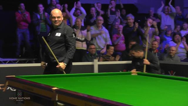 Stuart Bingham makes 147 maximum at Northern Ireland Open