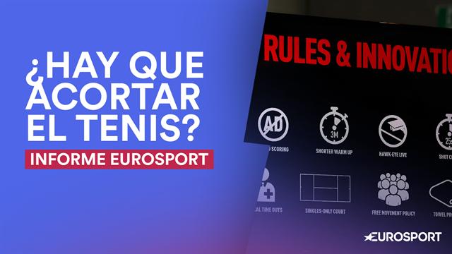 Informe Eurosport: El mundo del tenis debate su adaptación a los nuevos tiempos