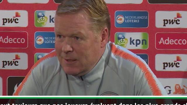 """Koeman : """"Depay devrait jouer dans un plus grand club"""""""