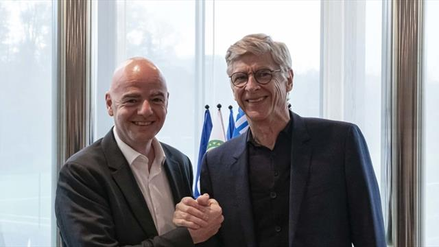'Training should be more efficient' - Wenger starts as FIFA's new chief of football development