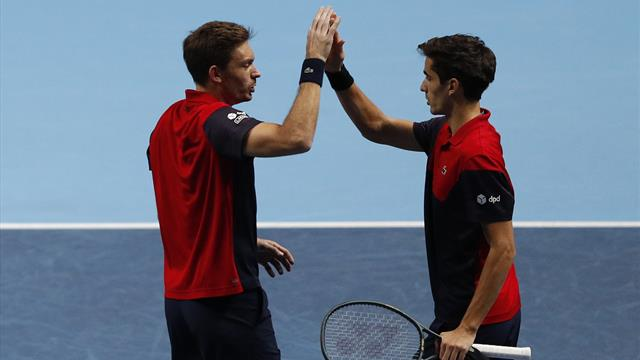 Herbert et Mahut battent la paire allemande et filent en demi-finale
