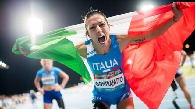 Contrafatto d'argento nei 100 metri! 5a medaglia italiana ai Mondiali paralimpici