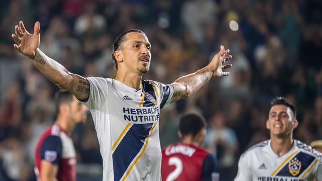 MLS - Zlatan Ibrahimovic fait ses adieux au LA Galaxy... à sa façon