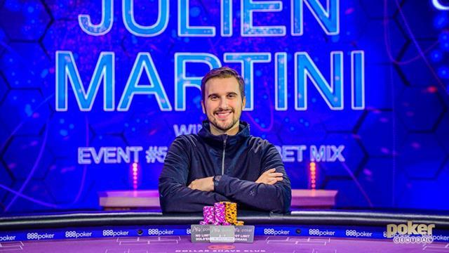 Julien Martini brille à Las Vegas sur les Poker Masters