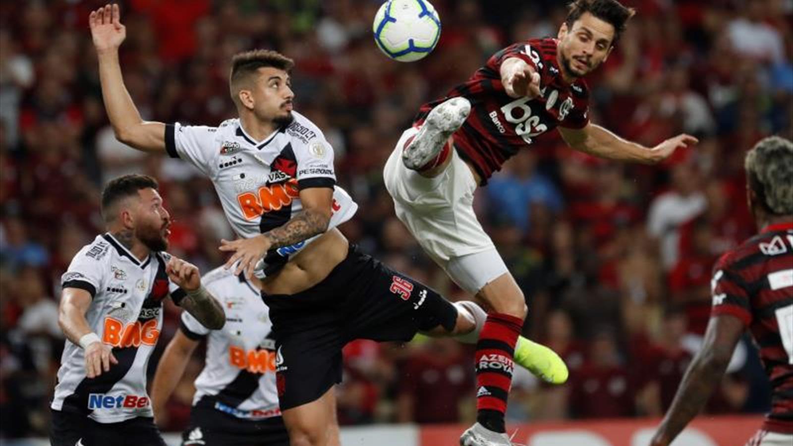 El Vasco iguala en el último minuto y trunca el triunfo del Flamengo - Eurosport