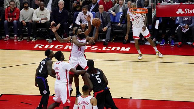 Un Harden des grands soirs porte les Rockets, Portland n'y arrive plus