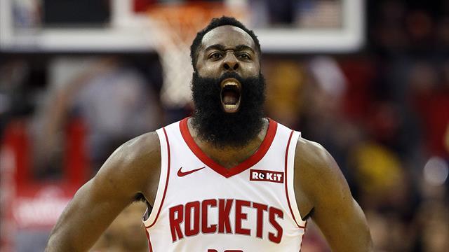 Harden relance les Rockets, les Lakers et Lebron surpris par Brooklyn