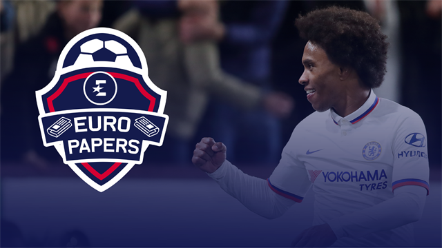 Where's Willian going? - Euro Papers