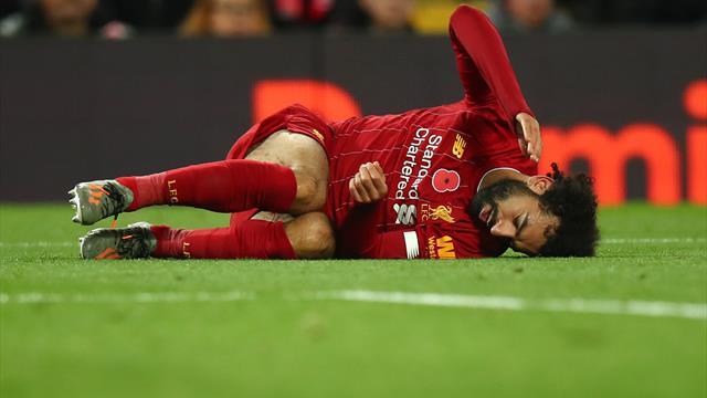 Mo Salah set to miss Liverpool's clash with Crystal Palace