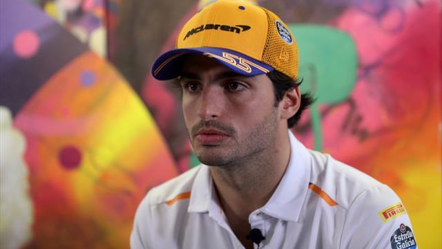 """Carlos Sainz dice que para 2021 la F1 """"será muy diferente"""""""