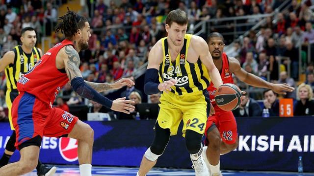Fenerbahçe Beko, CSKA Moskova rekabetinde bir adım önde