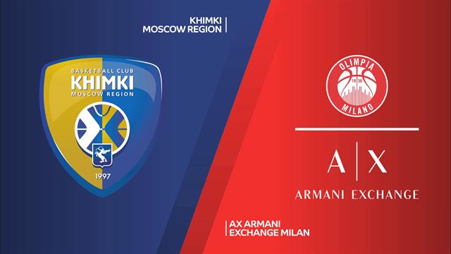 Highlights: Khimki Mosca-AX Armani Exchange Milano 87-79