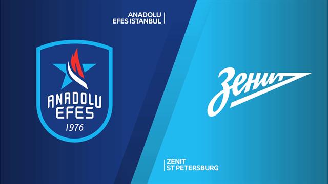 Highlights: Anadolu Efes Istanbul-Zenit San Pietroburgo 90-88