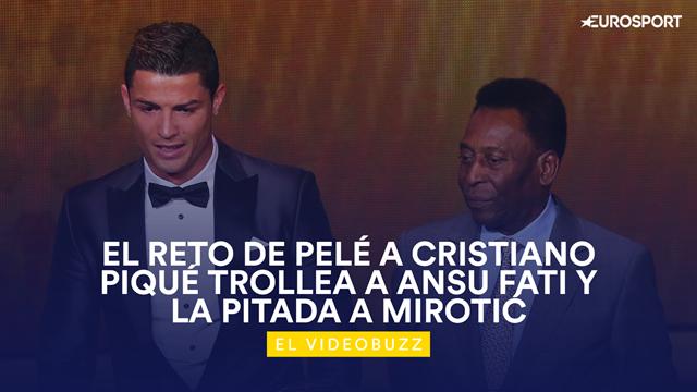El videobuzz, lo más curioso del deporte: El reto de Pelé a Cristiano Ronaldo