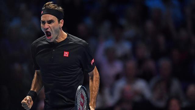 Atp Finals 2019, Federer:
