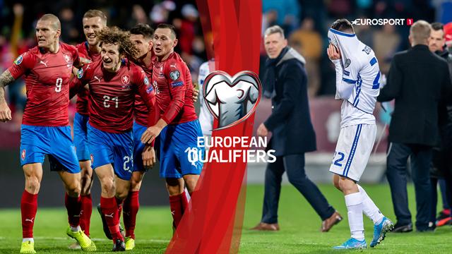Highlights: Tjekkiet stjal EM-billetten efter vildt drama til sidst mod Kosovo