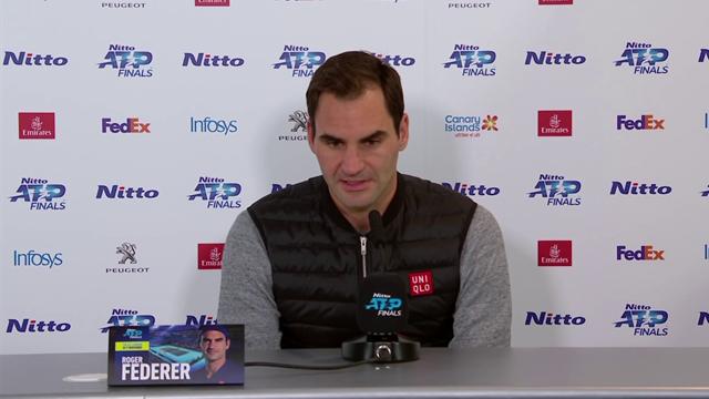 """Federer: """"È stato un bel giorno per il tennis: ho reagito bene sotto pressione"""""""