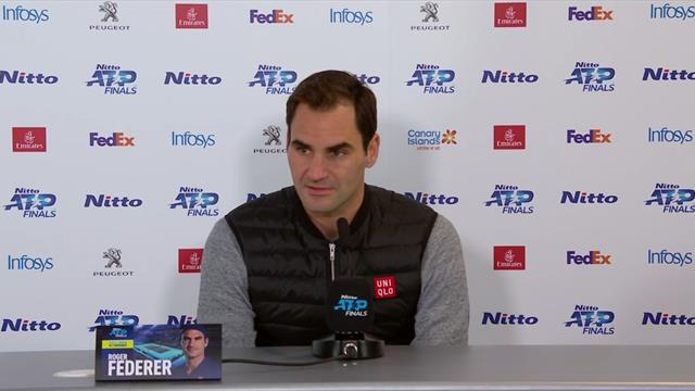 Federer after beating Djokovic: It was a good day for tennis