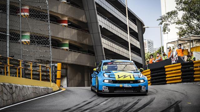 Nouveaux horaires pour la WTCR Race of Macau