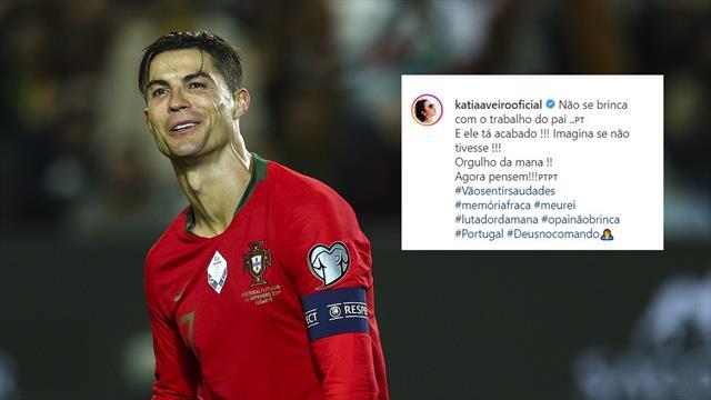 Juventus, la sorella di Ronaldo attacca Sarri: