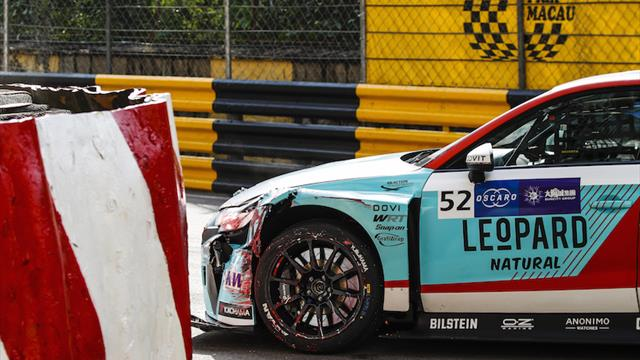Shedden car damage means no more Macau WTCR action