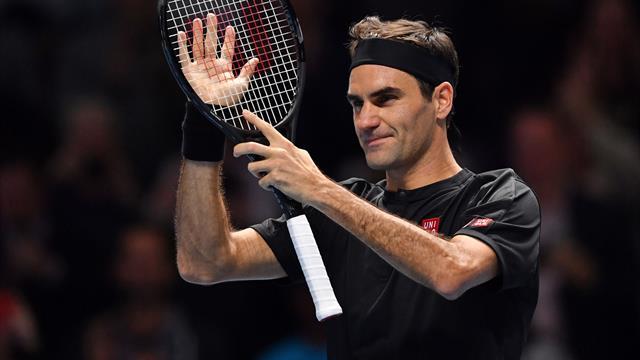 """Federer : """"C'est un sentiment fabuleux quand tu fais un match comme ça"""""""
