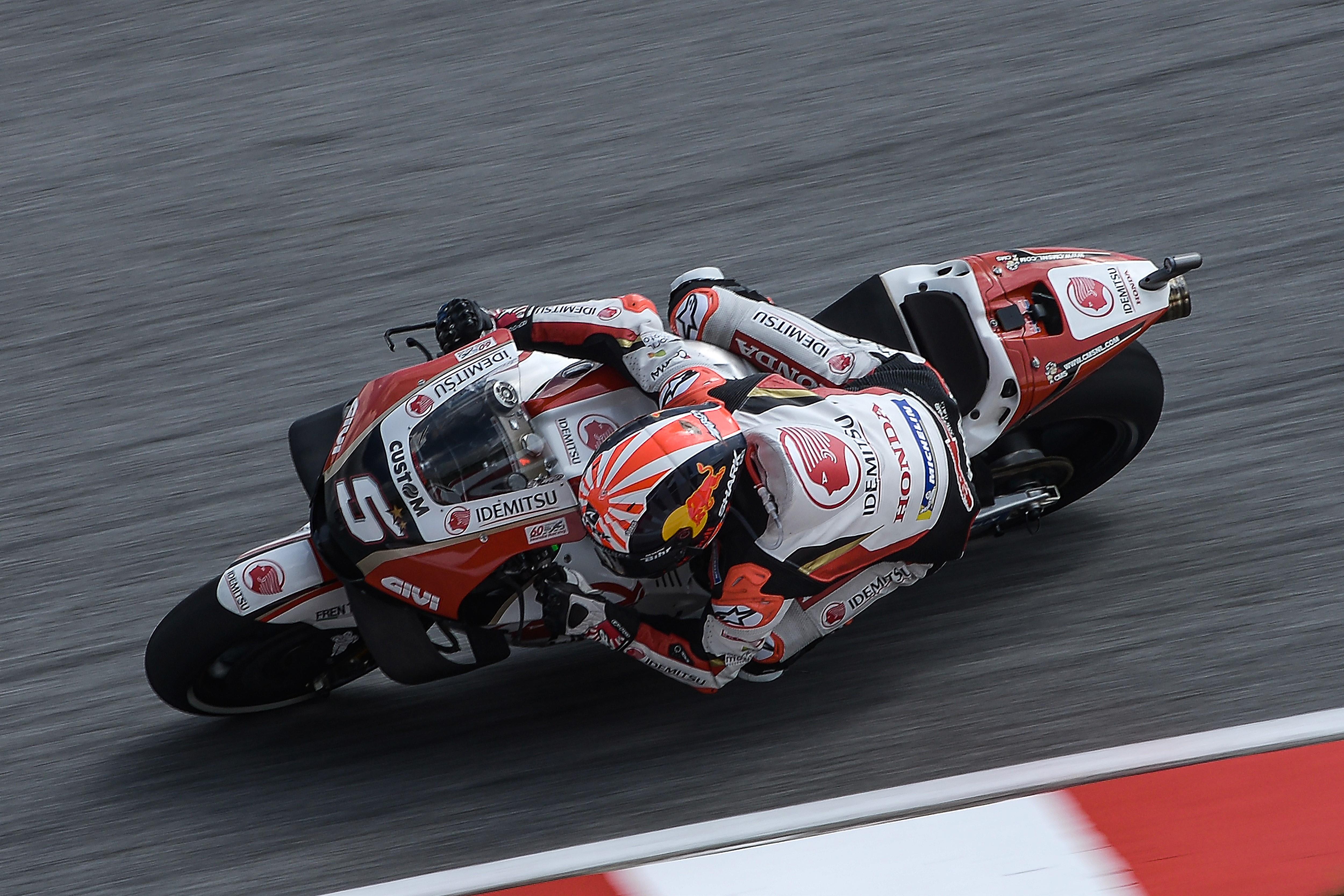 Johann Zarco (Honda LCR) au Grand Prix de Malaisie 2019