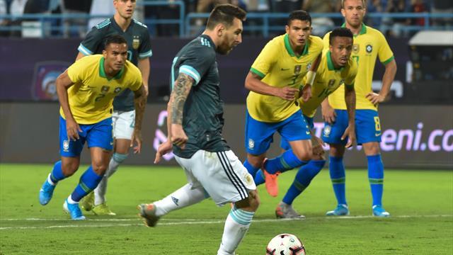 Messi trifft bei Comeback: Argentinien gewinnt Klassiker gegen Brasilien