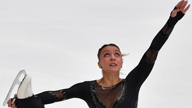 Eiskunstlauf: Schott im Moskauer Kurzprogramm Achte