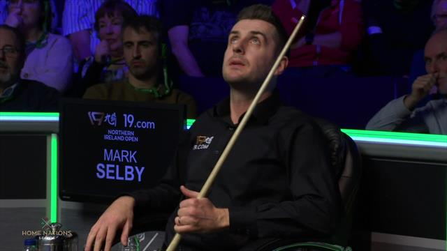 Mark Selby takes six minutes and 13 seconds to take a shot